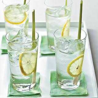 Ginger-Lemongrass Soda.