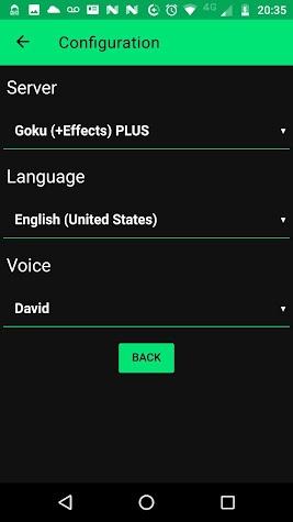 Narrator's Voice Screenshot