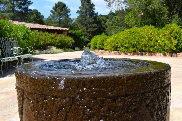 Fountain, Water, Water Feature, Wet, Bubble, Garden