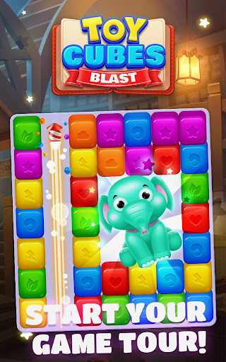 Toy Cubes Blast - screenshot