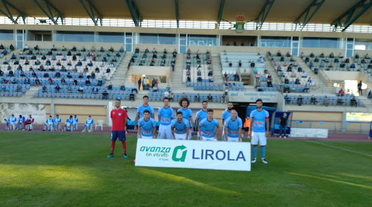 El primer once del CD El Ejido 2020-2021.