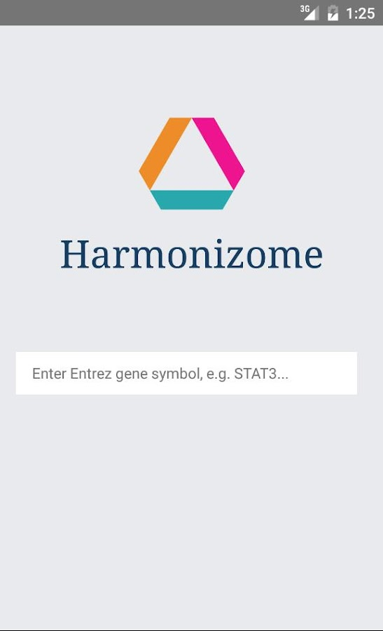 Harmonizome- screenshot