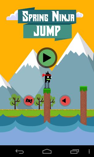 Spring Ninja Jump