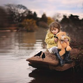 unexpected friends by Lazarina Karaivanova - Babies & Children Child Portraits