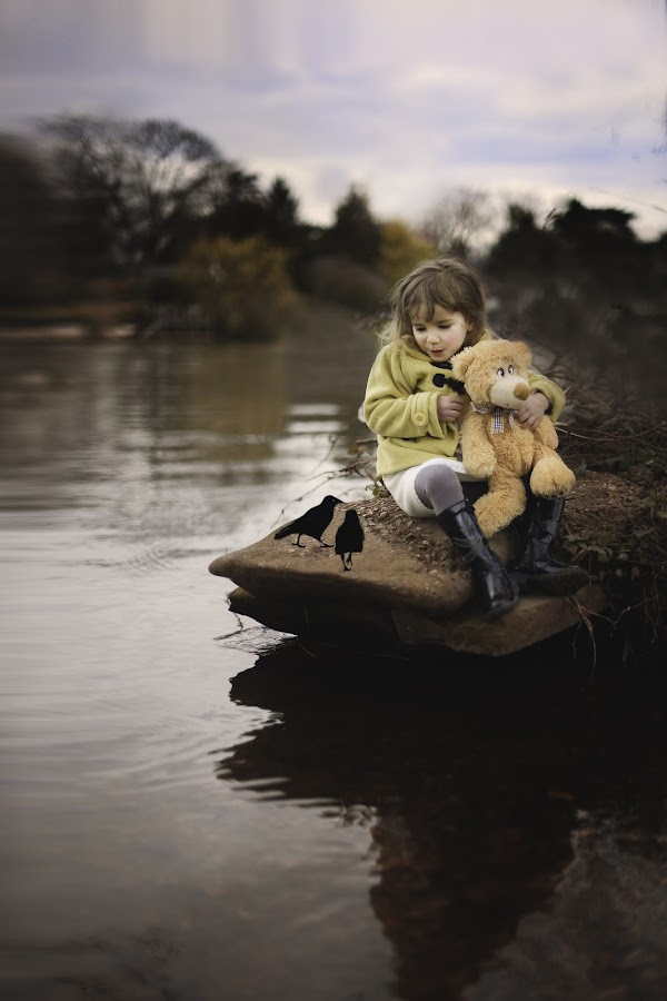 unexpected friends by Lazarina Karaivanova - Babies & Children Child Portraits