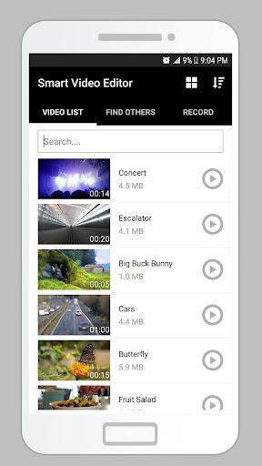 Smart Video Editor - Trim Merge Convert Exract mp3 Apk 2