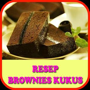 Resep Brownies Kukus Sederhana Simple for PC-Windows 7,8,10 and Mac apk screenshot 1