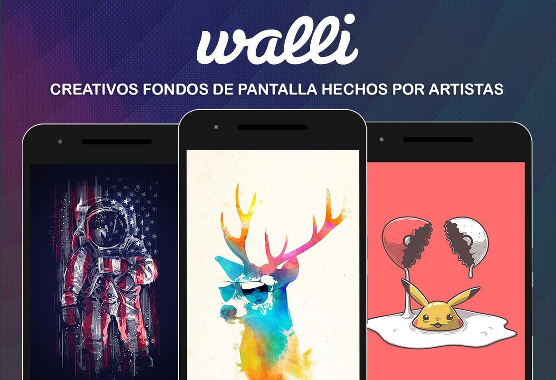 Las 8 mejores apps de fondos de pantalla android de 2017 - Fondos De Pantalla Hd Walli Captura De Pantalla