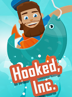 Hooked Inc: Fisher Tycoon Screenshot