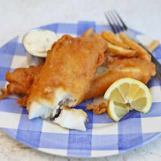 Crispy Beer Battered Fish.