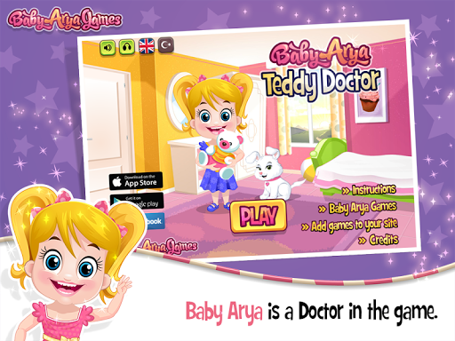 Baby Arya Teddy Doctor
