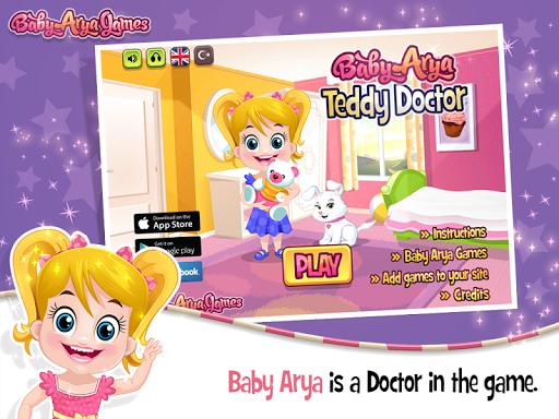 Baby Arya Teddy Doctor 1.0.1 screenshots 1