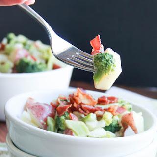 Broccoli Potato Bacon Salad