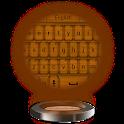 Wood Plated Keyboard Theme icon