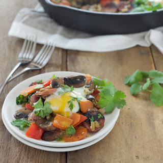 Breakfast Skillet with Sausage and Eggs