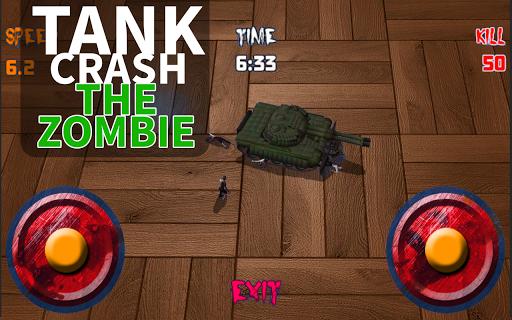 Tank Crush the Zombie