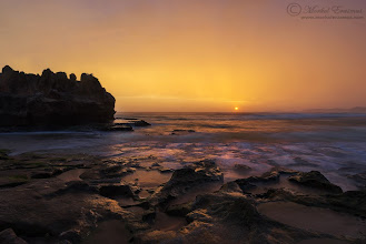 "Photo: ""Castle Rock Sunset"" - Brenton-on-Sea, South Africa"