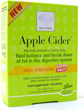 Nordic Apple Cider Food Supplement - 60 Tablets