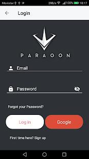 Paragon Social - náhled