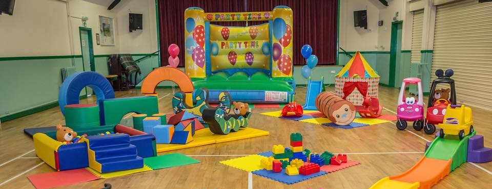 Soft Play Toy Area in a hall