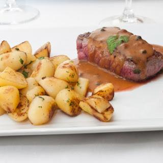 Mr. Blandin's Steak Au Poivre