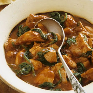 Indian Chicken and Spinach Curry