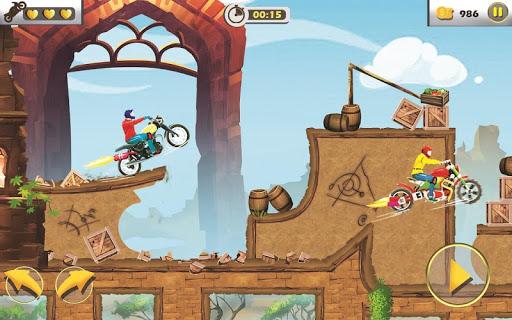 Rush To Crush - Xtreme Bike Stunt Racing PVP Games apkpoly screenshots 2