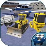 Airport Construction Crew 3D Icon