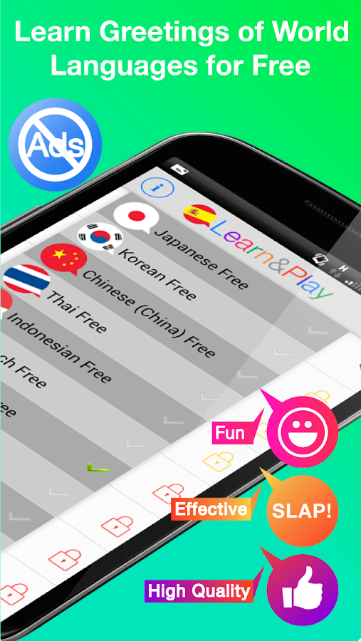 Learn&Play Languages Beginners :Fun Learn to Speak- screenshot