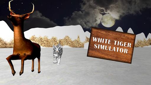 Wild White Tiger Simulator 3D