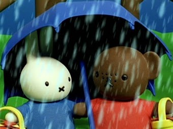 Miffy and Barbara In the Rain/ Miffy Lost at the Beach