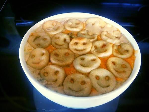 Smiley Face Casserole Recipe