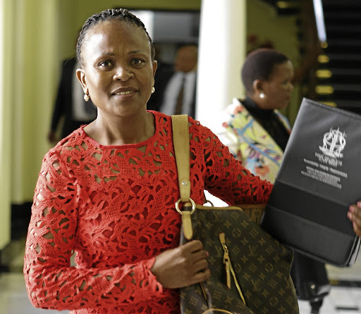 Public Protector Busisiwe Mkhwebane. Picture: THE TIMES