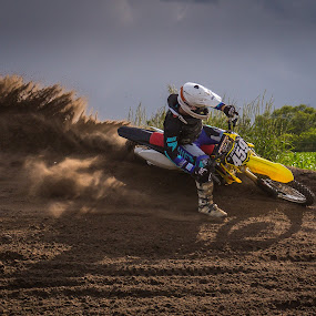 Before the Storm by Kenton Knutson - Sports & Fitness Motorsports ( roost, offroad, moto, mx, dirt,  )
