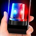 Siren police flasher sound sim prank game icon