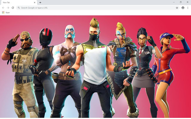 Fortnite Wallpapers and New Tab
