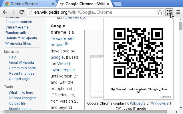 URL to QR code