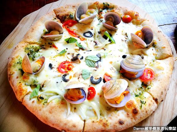 luau pizza柴寮披薩/食尚玩家推薦童話小屋吃披薩/IG打卡熱門景點