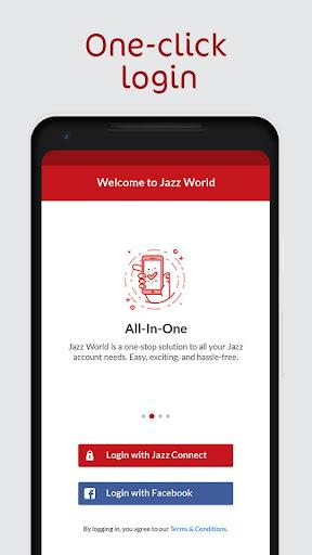 Jazz World - Manage Your Jazz Account 1.2.1 screenshots n 1