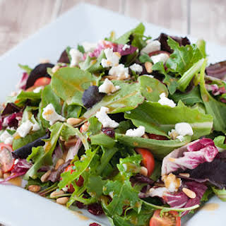 Goat Cheese Salad With Balsamic Vinaigrette Recipes.