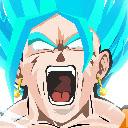 Goku Black Pop HD Anime New Tabs Theme