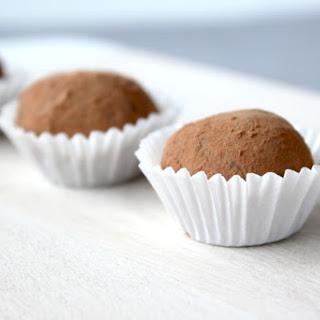 Creme de Menthe Chocolate Truffles