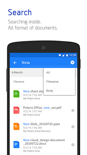 Polaris Office for LG 7.3.21 screenshots 6