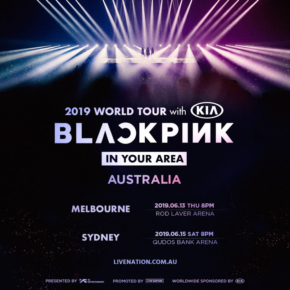 blackpink tour