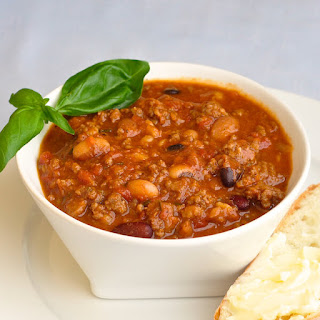 15 Bean Sausage Chili