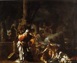 Photo: - Le Roi Salomon sacrifiant aux idoles (Genève) - Sébastien Bourdon