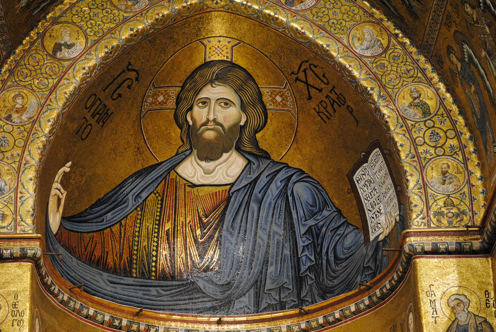 My Photos: Italy -- Sicily -- Palermo -- Monreale -- Cathedral Mosaics