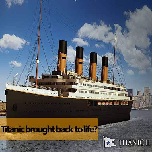 Will there be a Titanic 2 by 2022?