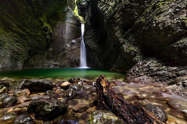 Kozjak Waterfall, Slovenia di FabioClock