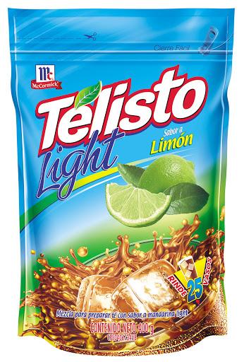 bebida en polvo telisto light limon 400gr